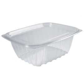 Dart Solo ClearPac Plastic Container Combo 32oz With Flat Lid - 208620 - 252/cs