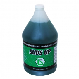 Suds Up Pot & Pan Dish Liquid Soap 4L - 220040 - 4jg/cs