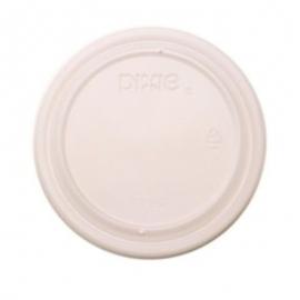 DIXIE Vented Lid Platic Lid 3.5oz For Foam Container, Translucent - 245759 - 1000/cs