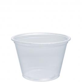 Dart Conex Compliments Translucent 2.5 oz Plastic Portion Cups - 250PC - 2500/cs