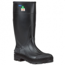 "Servus Black Steel Toe Boot Size 14 15"", CSA Approved - 257512514"