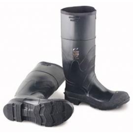 "Dunlop Black Plain Toe Boot Size 7 16"" - 258660507"