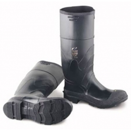 "Dunlop Black Plain Toe Boot Size 9 16"" - 258660509"