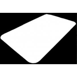"D&W Fine Pack Board Lid For 3Lb Oblong 10"" - 2602050 - 500/cs"