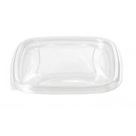 Pactiv Clear Square Bowl Dome Lid 24-32oz - 260649 - 300/cs