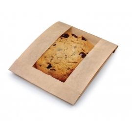 "Eco Craft Cookie Bag 5"" x 1.5"" x 7"" Grease Resistant - 300114 - 1000/cs"
