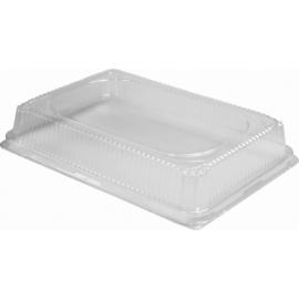 "HFA Plastic Dome Lid fits 309, 12.75"" x 8.75"" x 1.63"" - 309HDL-100 - 100/cs"