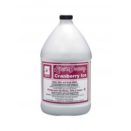 Spartan Lite N Foamy Cranberry Ice Soap 1 Gallon Jug - 315204 - 4jg/cs