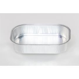Pactiv 16 oz Foil Platters - 34955PLD - 500/cs