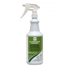 Spartan Green Solutions Restroom Cleaner 1 Quart Bottle - 350303 - 12bt/cs