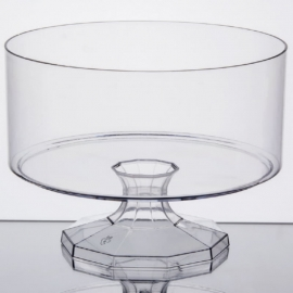 """Fineline Settings Trifle Bowls Clear 38oz 6"""" Speciality Food Service Supplies - 3530L - 6/cs"""