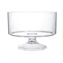 """Fineline Settings Trifle Bowls Clear 75oz 7.5"""" Speciality Food Service Supplies - 3531L - 6/cs"""
