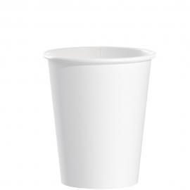 Dart Solo White 10 oz Tall Paper Hot Cups - 370W-2050 - 1000/cs