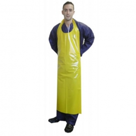 "RONCO PU Apron 35"" X 45"" 5.5mil, Diecut - 38162Y - 24pc/cs"
