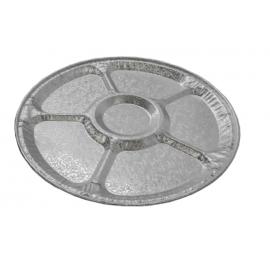 HFA 12in Foil Lazy Susan Tray - 4012-70-25 - 25/cs