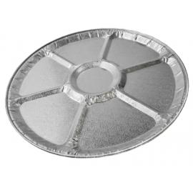 HFA 18in Foil Lazy Susan Tray - 4018-100 - 25/cs