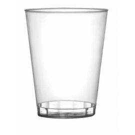 Fineline Settings Plastic Clear Shot Glass 1oz Plastic Cups - 401CL - 2500/cs