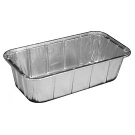 HFA 1.5lb Loaf Pan Full Curl Rim - 4043-35-500 - 500/cs