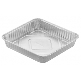 HFA 8in Square Cake Pan - 4048-35-500 - 500/cs