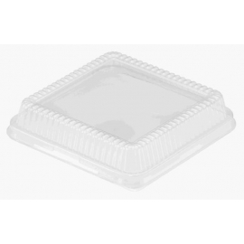 HFA Plastic Dome Lid fits 8in Square - 4048DL - 500/cs