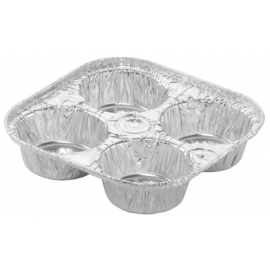 HFA Giant 4 Cavity Muffin - 4055-30-300 - 300/cs