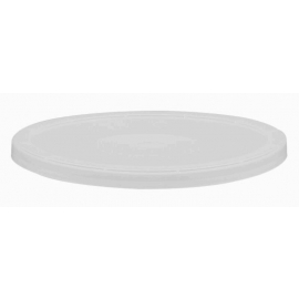 Injection Flush Fill Lid for Deli Plastic Containers - 409P00 - 500/cs