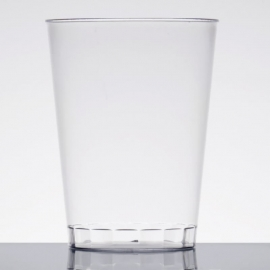 Fineline Settings Rigid Plastic Clear Tumbler 10oz Plastic Cups - 410CL - 20 x 25/cs