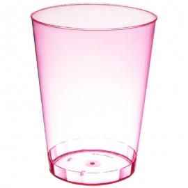 Fineline Settings Rigid Plastic Neon Red Tumbler 10oz Plastic Cups - 410RD - 20 x 25/cs