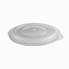 "Anchor Packaging Incredi-Bowls 5"" Round Clear Lid fits 5, 8, and 10oz Incredi-Bowls containers Plastic Bowls - 4334810 - 500/cs"