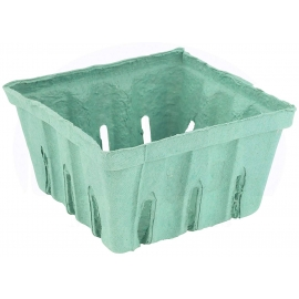 CKF 1.5g Pulp Produce Tray Green - 44133 - 200/cs