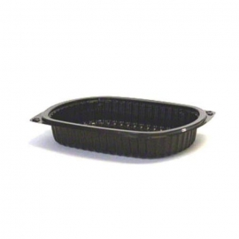 Anchor Packaging Microraves Rectangular Tray 24oz Plastic Containers Microwavable - 4540424 - 250/cs