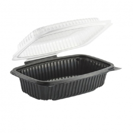 Anchor Packaging Culinary Classics Hinged Clamshell 34oz Plastic Hinged Container Microwavable - 4656911 - 100/cs