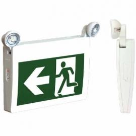 Stanpro Steel LED Exit/Emergency Light Pack 120/347 VAC - 4829501