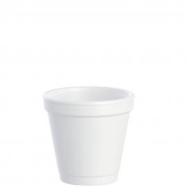 Dart J Cup 4 oz Foam Cups - 4J4 - 1000/cs