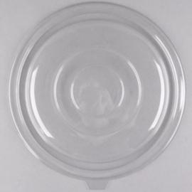 Fineline Settings Clear Plastic Flat Lid 80oz Party Supplies - 5080FL - 25/cs