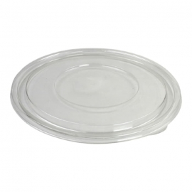 Sabert Clear Round Flat Lid fits 9280A50 Catering Bowls - 51080A50 - 50/cs