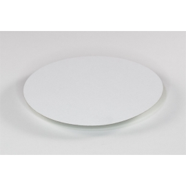 Pactiv 7in Round Foil Board Lid for 51218LD - 51218LD - 500/cs