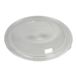 Sabert Clear Round Dome Lid fits 92160A50 Catering Bowls - 52160A50 - 50/cs