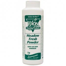 Vision Meadow Fresh Carpet Odour Deodorant Powder 1kg Floral Fragrance - 52530