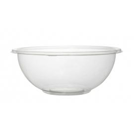 Fineline Settings Clear PET Plastic Salad Bowl 320oz Party Supplies - 5320CL - 25/cs