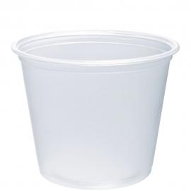 Dart Conex Compliments Translucent 5.5 oz Plastic Portion Cups - 550PC - 2500/cs