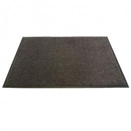 Olefin Charcoal Gray Floor Mat 3ft x 6ft - 6107036 -