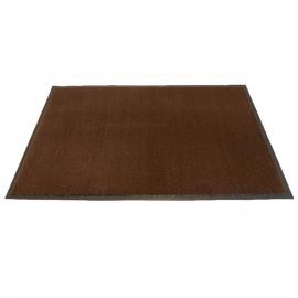 Olefin Coffee Brown Floor Mat 3ft x 10ft - 6111310 -