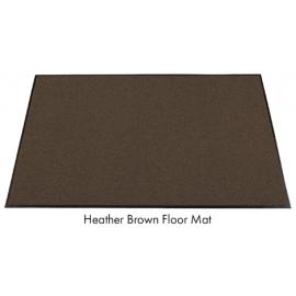 Olefin Dark Brown Floor Mat 4ft x 26ft - 61114X25 -