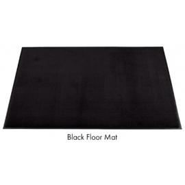Olefin Black Indoor Mat 3ft x 10ft - 6116310 -