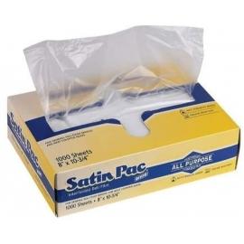 """Satin Pac Deli Sheets/Wrap 8"""" X 10.75"""" - 625109 - 1000/bx"""