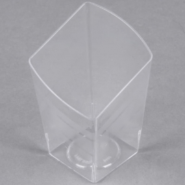 Fineline Settings Tiny Trifles Clear Plastic Bowl 2.2oz Party Supplies - 6407 - 200/cs