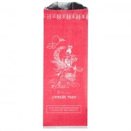 Kari-Out Chinese Print Quart Insulated Foil Bags - 6500320 - 1000/cs
