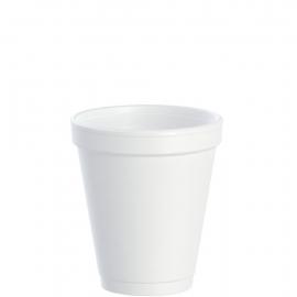 Dart J Cup 6 oz Foam Cups - 6J6 - 1000/cs
