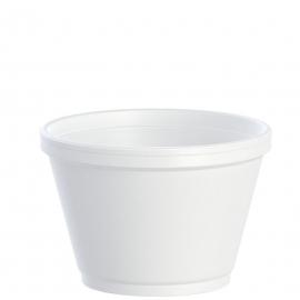 Dart 6 oz Foam Containers - 6SJ12 - 1000/cs